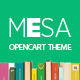 Pav Mesa Book Store Opencart theme - ThemeForest Item for Sale