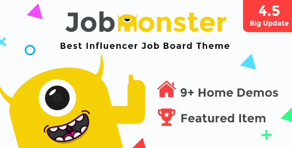 Jobmonster - Job Board WordPress Theme - Directory & Listings Corporate