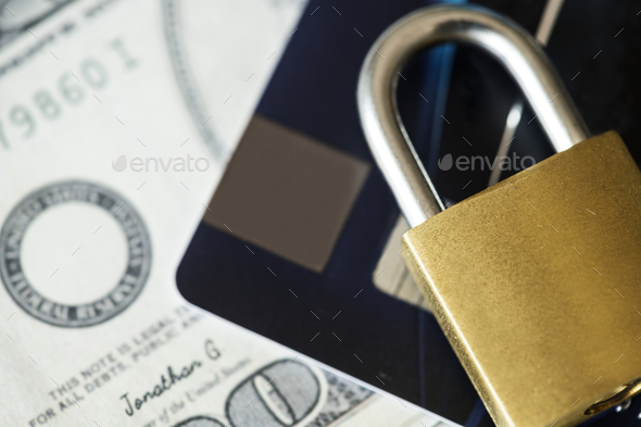 Credit card security concept - Stock Photo - Images