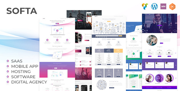 Image of Softa | SaaS, Software & WebApp for SaaS/Software WordPress Theme