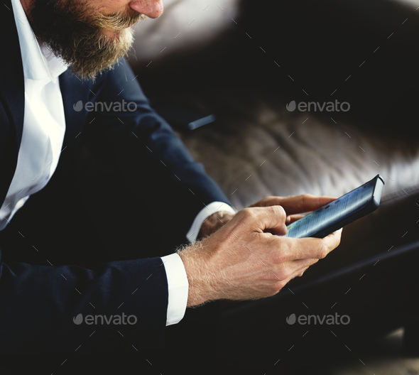 People using smartphones - Stock Photo - Images