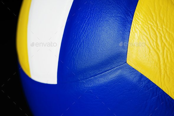 Closeup of Volleyball - Stock Photo - Images