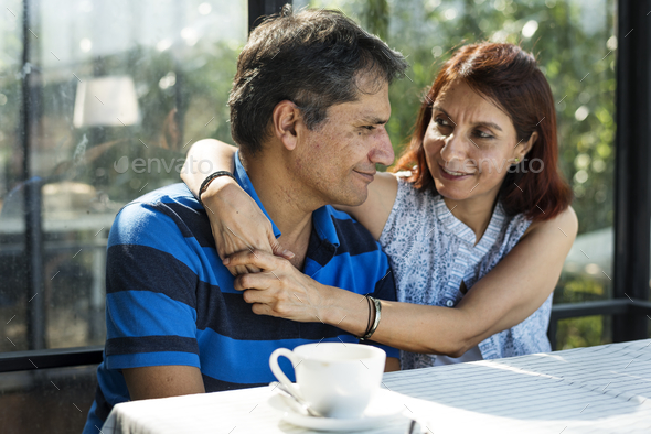 Couple spending time together - Stock Photo - Images
