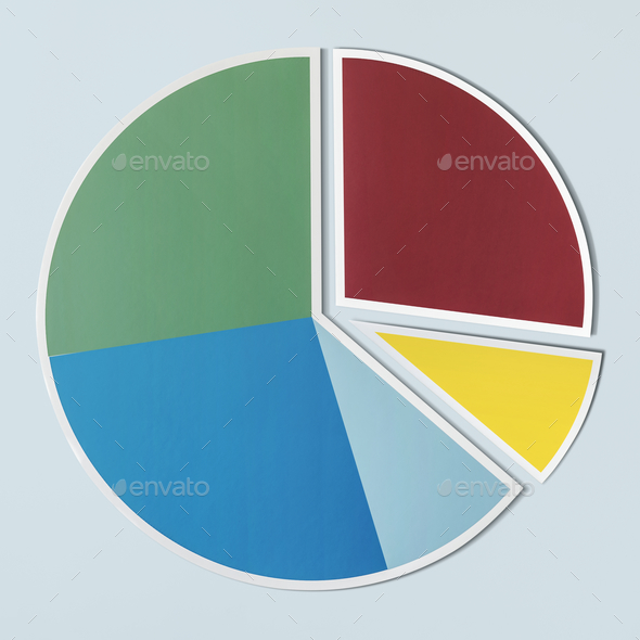 Data analysis pie chart icon - Stock Photo - Images