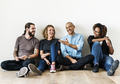 Diverse friends talking together - PhotoDune Item for Sale
