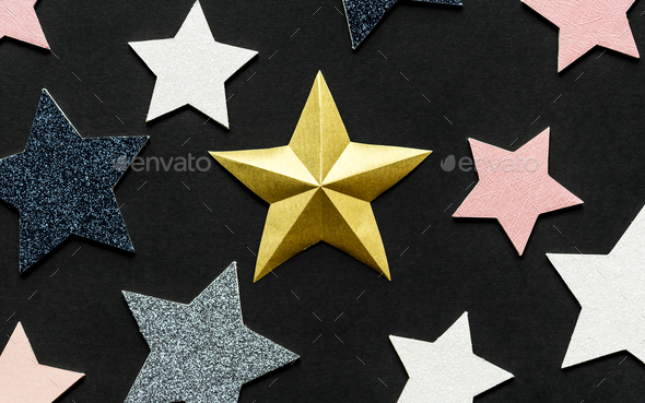 Star decoration background - Stock Photo - Images