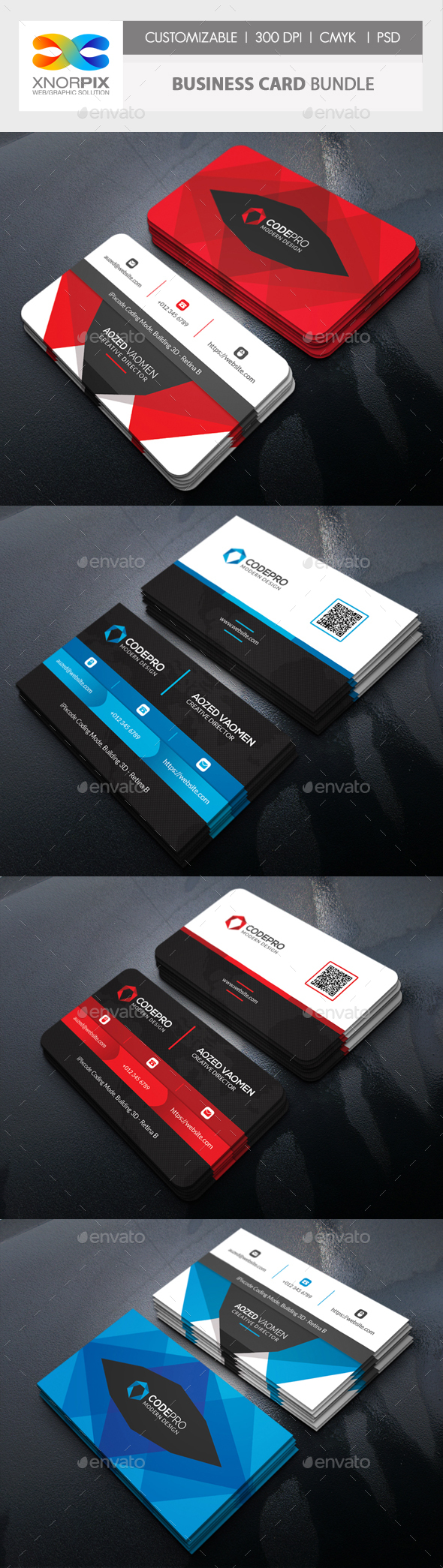 Business Card Bundle - Corporate Business Cards