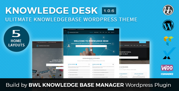 Image of Knowledgedesk - Knowledge Base WordPress Theme