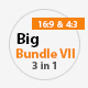 Big Bundle  7 Three in One Power Point Presentation - GraphicRiver Item for Sale