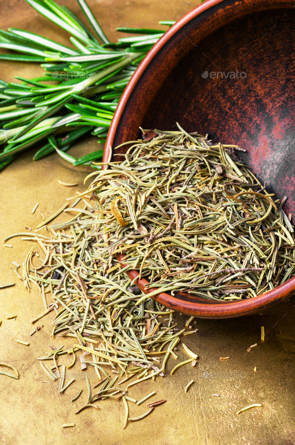 Fresh rosemary bunch - Stock Photo - Images
