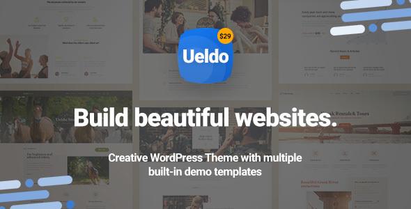 Image of Ueldo - Responsive Multi-Purpose WordPress theme