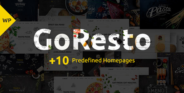 Image of GoResto – Multipurpose Restaurant & Table Booking WordPress Theme
