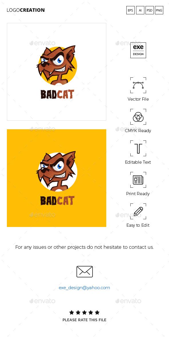 Cat Logo - Animals Logo Templates