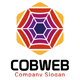 Cobweb Hexagon Logo