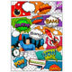 Comic Book Page Divided by Lines - GraphicRiver Item for Sale