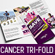 Cancer Benefit Tri-Fold Brochure Template - GraphicRiver Item for Sale