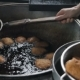 Deep Fried Buns in Hot Oil - VideoHive Item for Sale