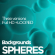 Spheres Backgrounds - VideoHive Item for Sale