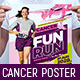 A3 Cancer Benefit Poster Template - GraphicRiver Item for Sale