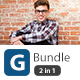 G Bundle 2 in 1 Power Point Presentation - GraphicRiver Item for Sale