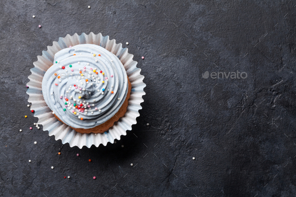 Sweet cupcake - Stock Photo - Images
