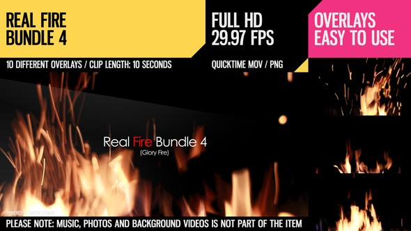 Real Fire Bundle 4 - 6828884
