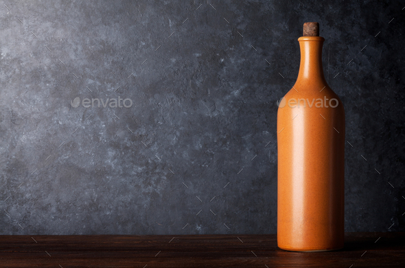 Red wine bottle - Stock Photo - Images