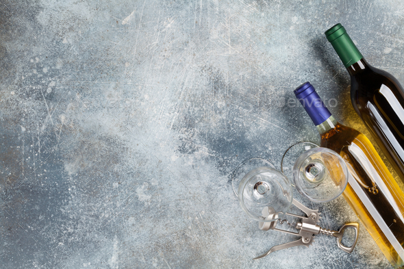 White wine - Stock Photo - Images