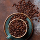 Coffee cup with roasted beans - PhotoDune Item for Sale