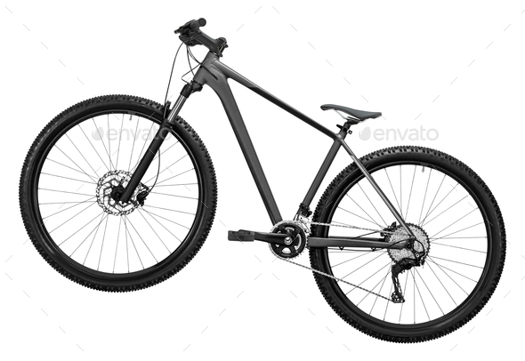 bicycle isolated on a white background - Stock Photo - Images