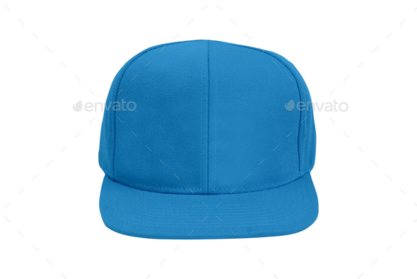 Blue Baseball Hat isolated - Stock Photo - Images