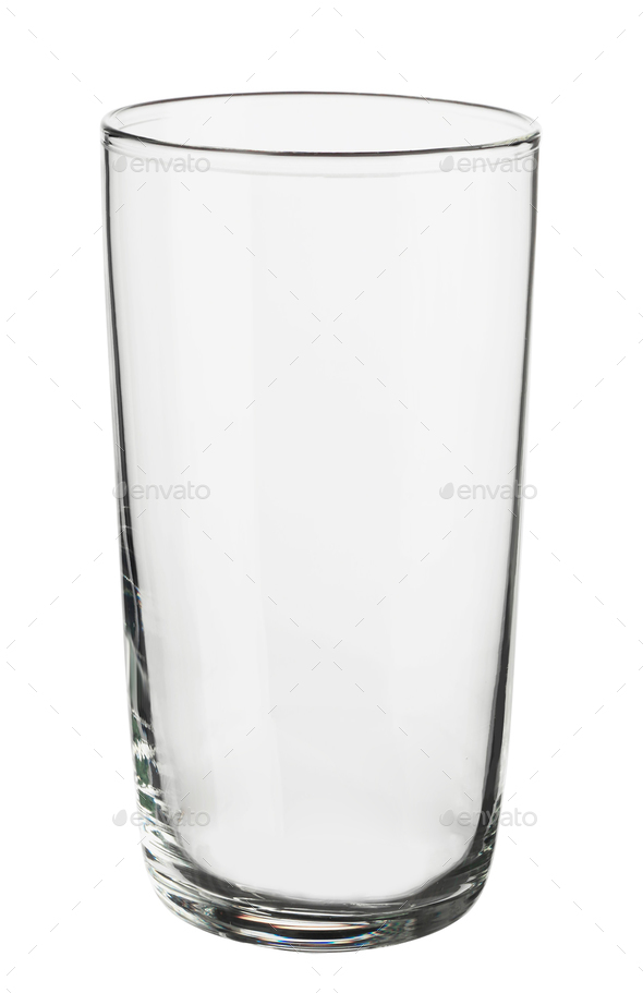glass isolated on white background - Stock Photo - Images