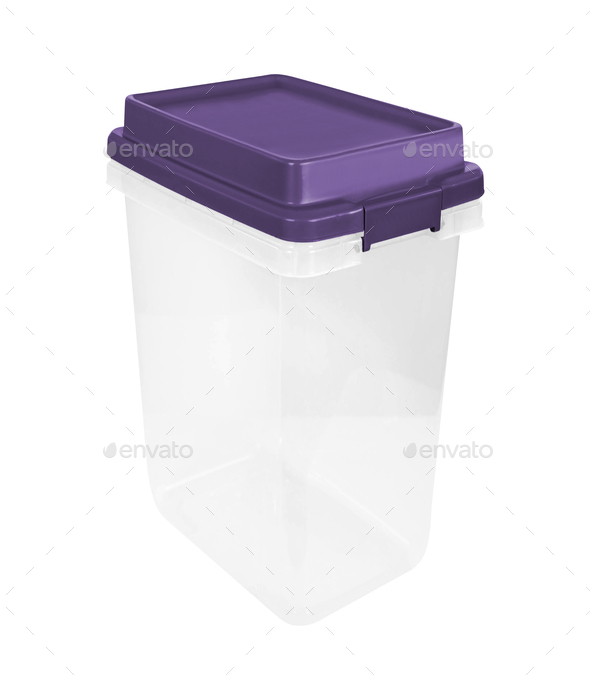 Plastic food container - Stock Photo - Images