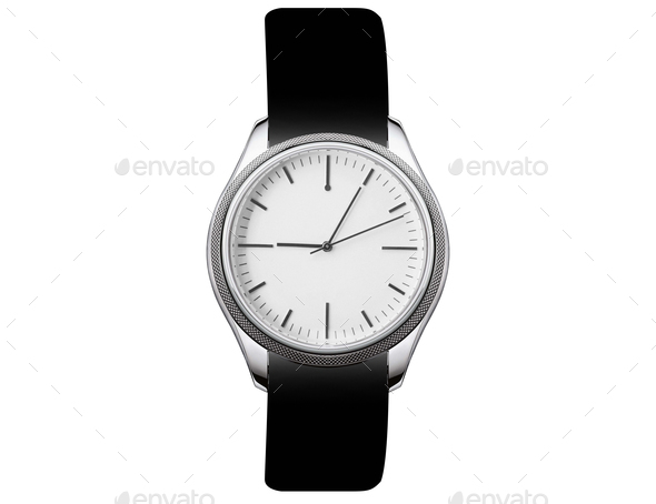 watch isolated on white - Stock Photo - Images