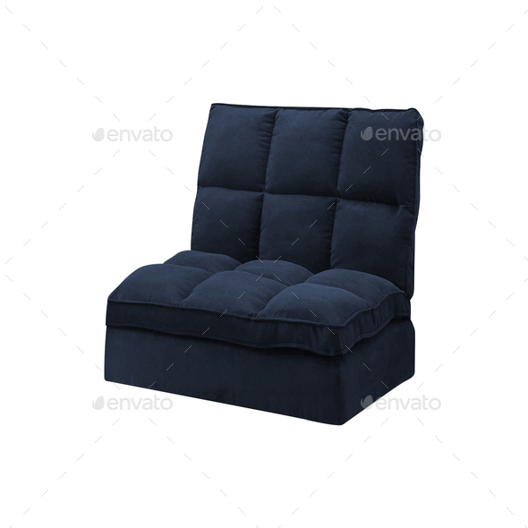 Modern sofa isolated - Stock Photo - Images