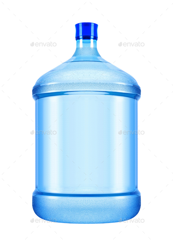 big bottle of water - Stock Photo - Images
