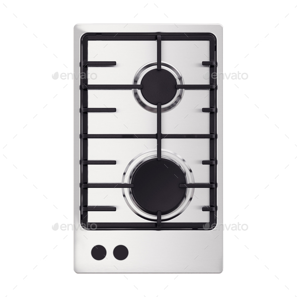 oven isolated on white background - Stock Photo - Images