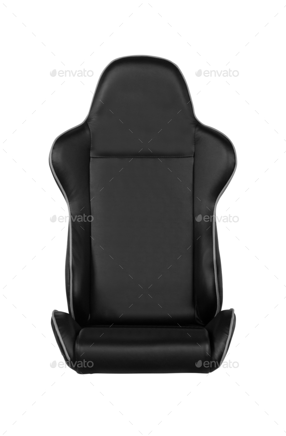 gaming seat, isolated on white - Stock Photo - Images