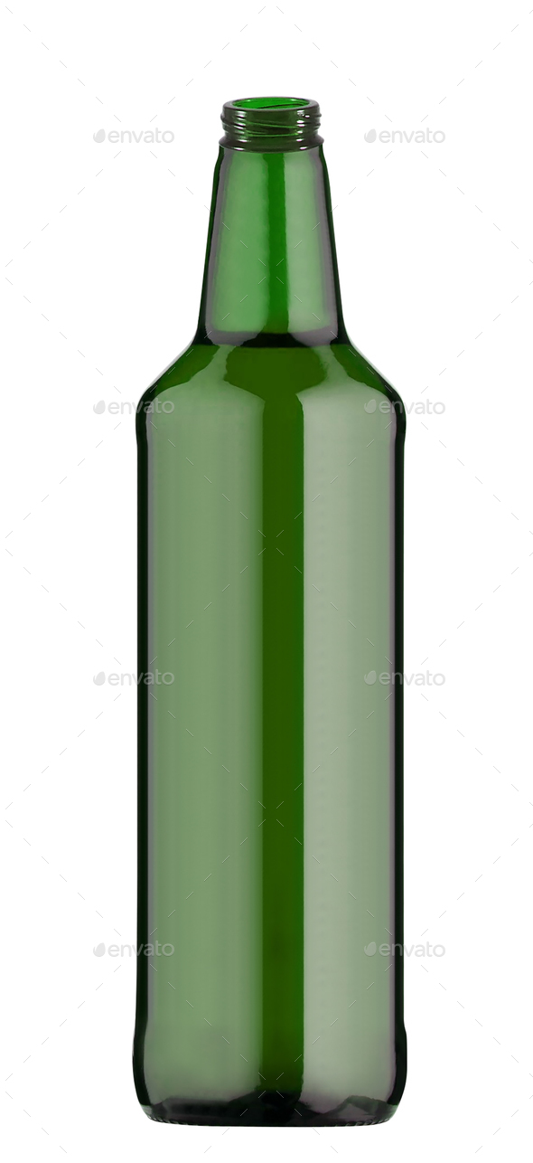 Beer Bottle Isolated - Stock Photo - Images