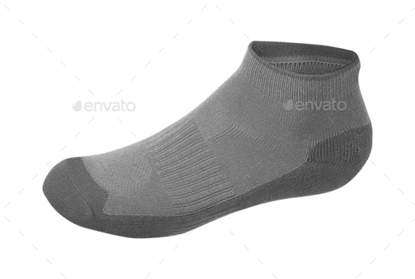 sock isolated on white - Stock Photo - Images