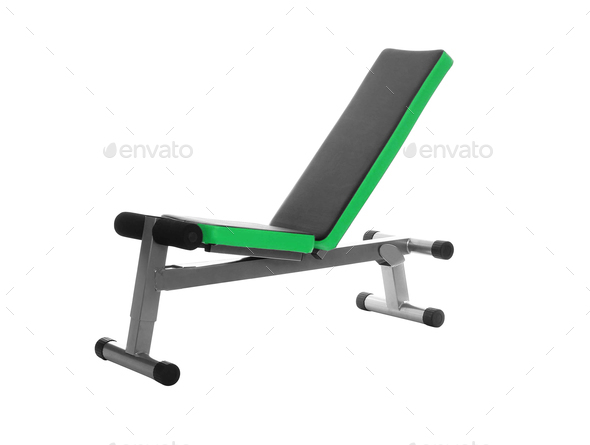 Gym Bench isolated - Stock Photo - Images