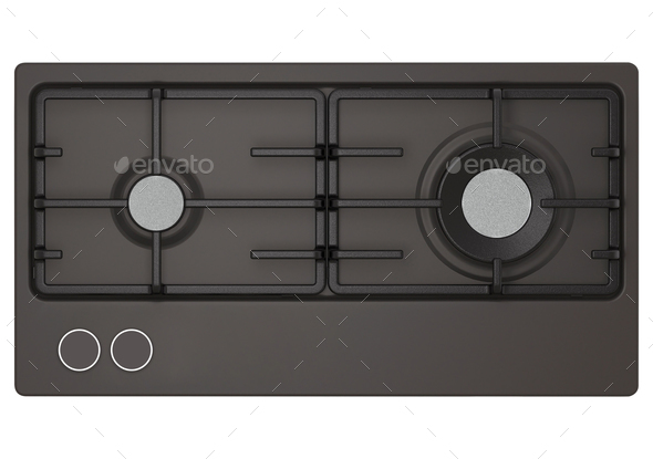 oven isolated on white - Stock Photo - Images