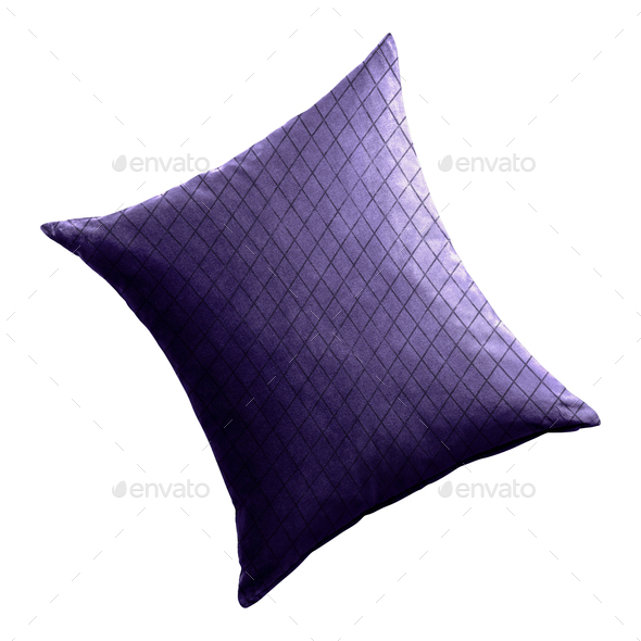 pillow isolated on white - Stock Photo - Images