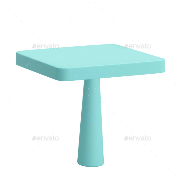 baby plastic table - Stock Photo - Images