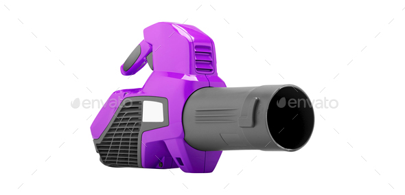 Garden blower isolated - Stock Photo - Images