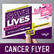 Cancer Benefit Flyer Template - GraphicRiver Item for Sale