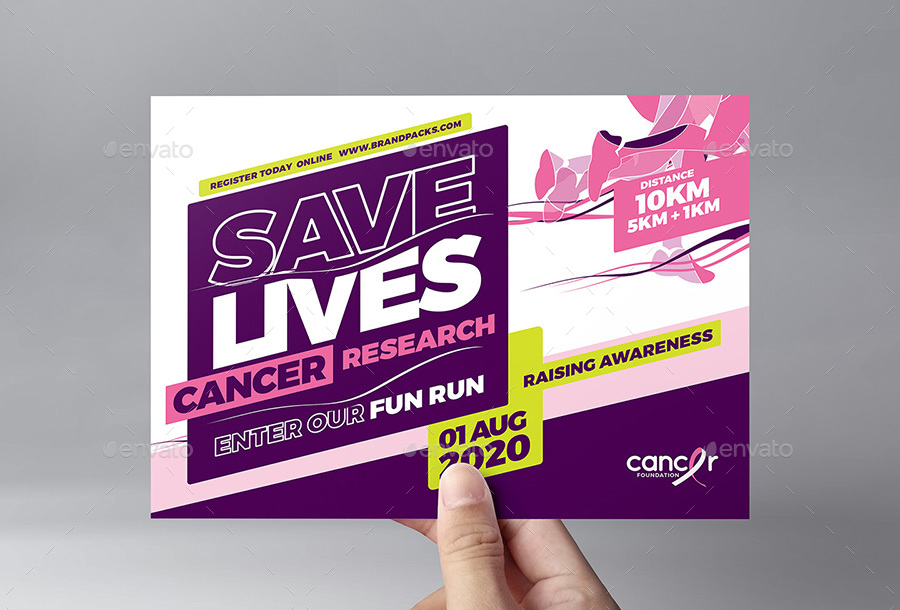 Cancer Benefit Flyer Template By Brandpacks  Graphicriver