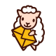 Sheep Mail Message Delivery Mascot Logo - GraphicRiver Item for Sale