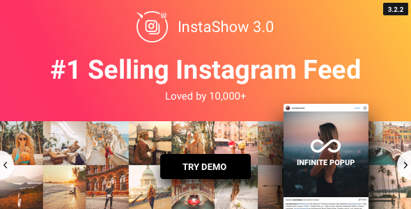 Plugins v3.2.2 Instagram Feed - WordPress Instagram Gallery