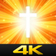 Sunburst Worship Cross - VideoHive Item for Sale